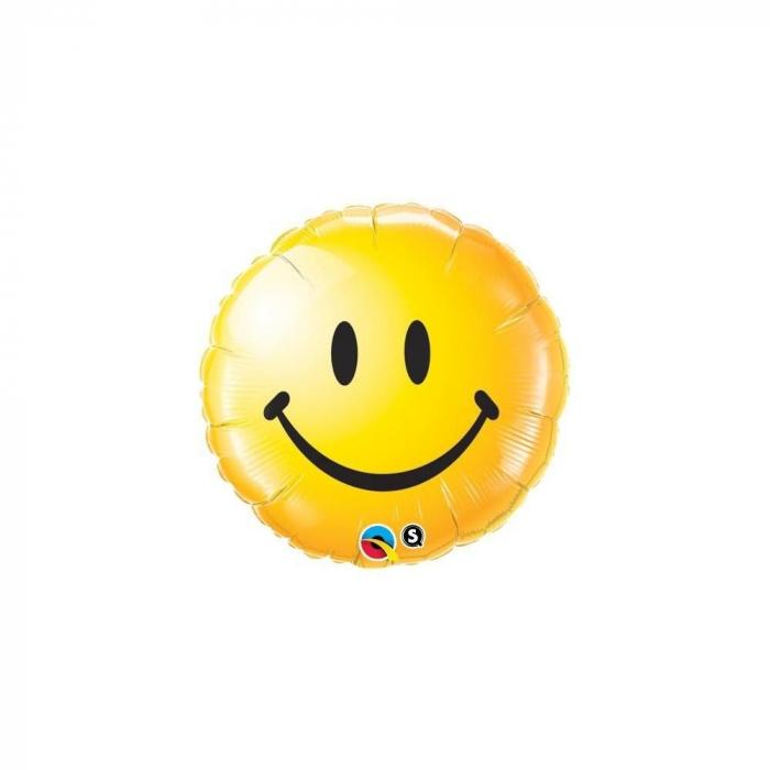 Balon Folie Smiley Face Galben 45 cm DB29632 0