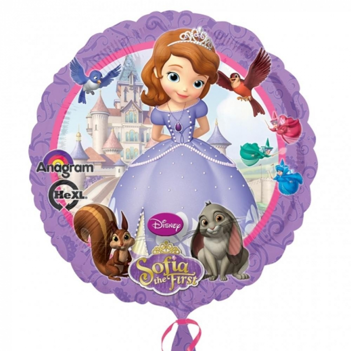 Balon Folie Sofia Intai 45 cm 1 buc DB27529 [0]