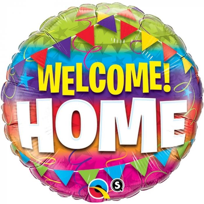 Balon Folie Welcome Home 45 cm 1 buc DB45245 0