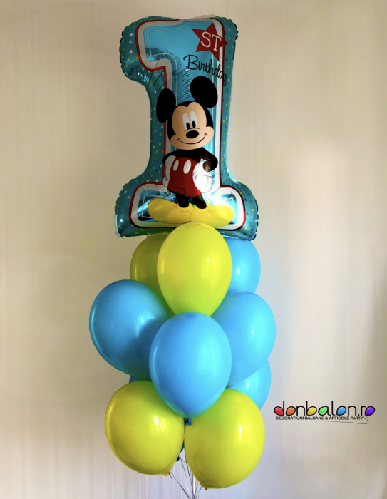Buchet 1st Birthday Mickey Boy DBB34343 0