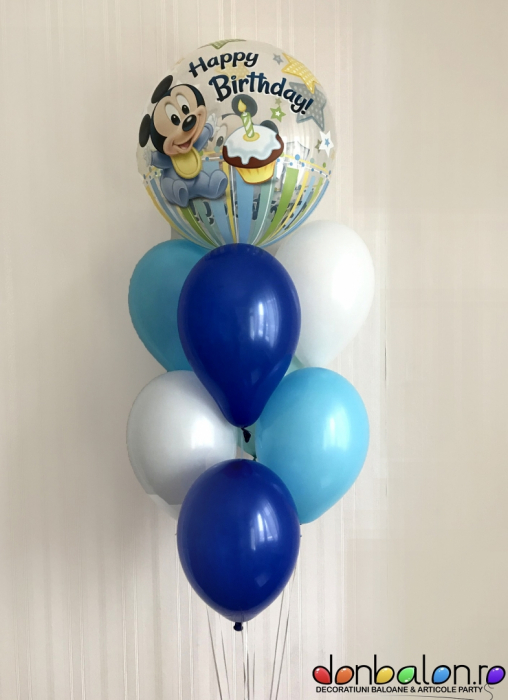 Buchet 1st Birthday Mickey DBB12864 0