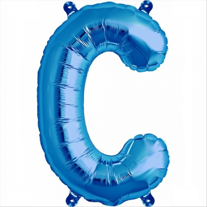 Litera Albastra Foil Balloons 1 buc 41 cm DBNB00531 3