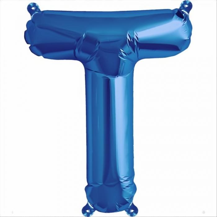 Litera Albastra Foil Balloons 1 buc 41 cm DBNB00531 19