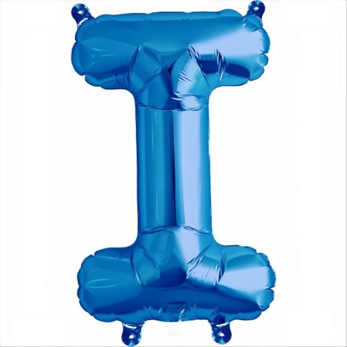 Litera Albastra Foil Balloons 1 buc 41 cm DBNB00531 9