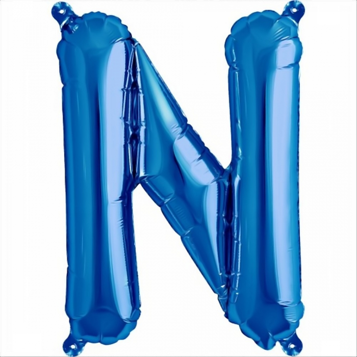 Litera Albastra Foil Balloons 1 buc 41 cm DBNB00531 14
