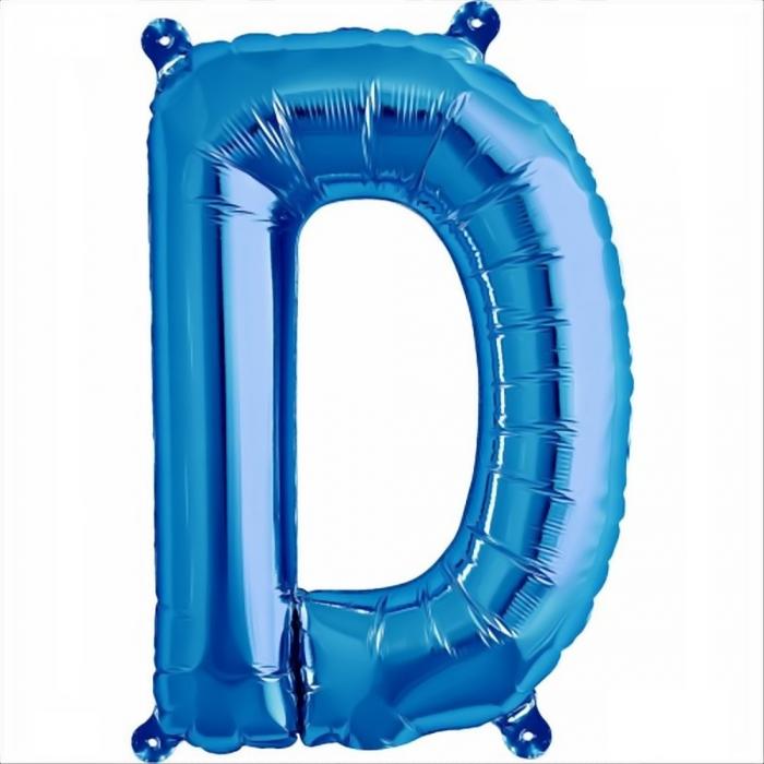 Litera Albastra Foil Balloons 1 buc 41 cm DBNB00531 4