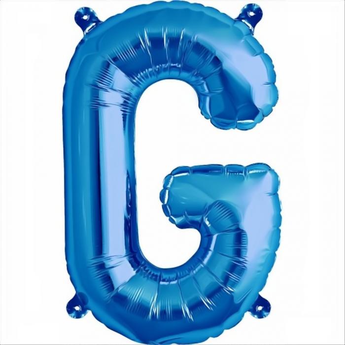 Litera Albastra Foil Balloons 1 buc 41 cm DBNB00531 7