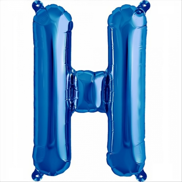 Litera Albastra Foil Balloons 1 buc 41 cm DBNB00531 8