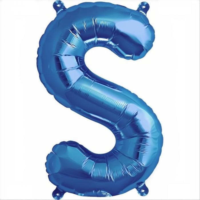 Litera Albastra Foil Balloons 1 buc 41 cm DBNB00531 18