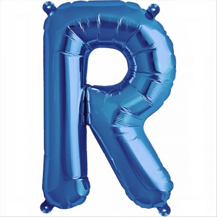 Litera Albastra Foil Balloons 1 buc 41 cm DBNB00531 17