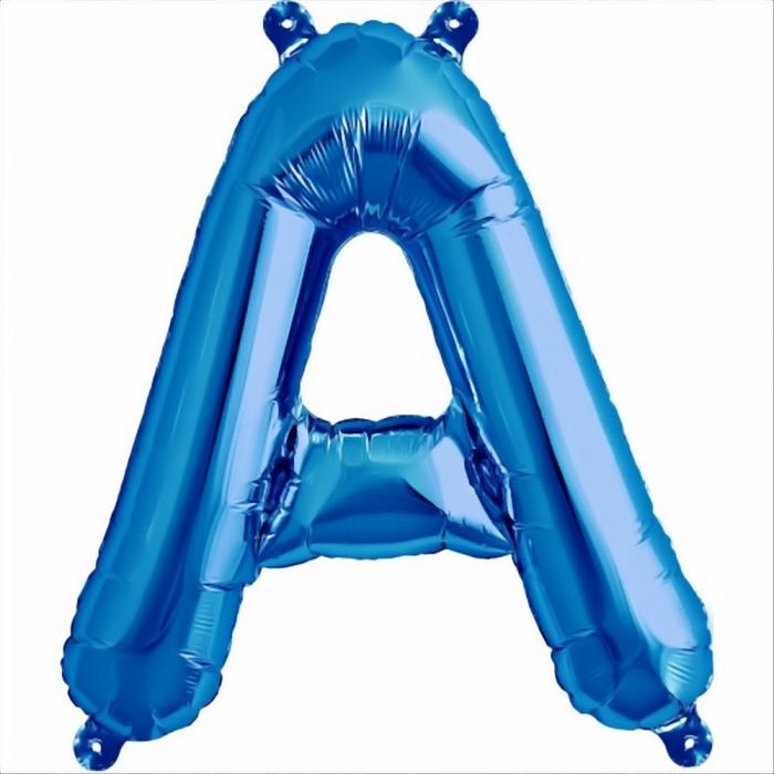 Litera Albastra Foil Balloons 1 buc 41 cm DBNB00531 1