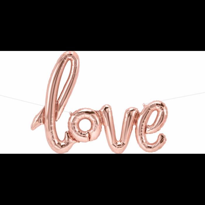 Script LOVE cu aer 40''/100 cm 0