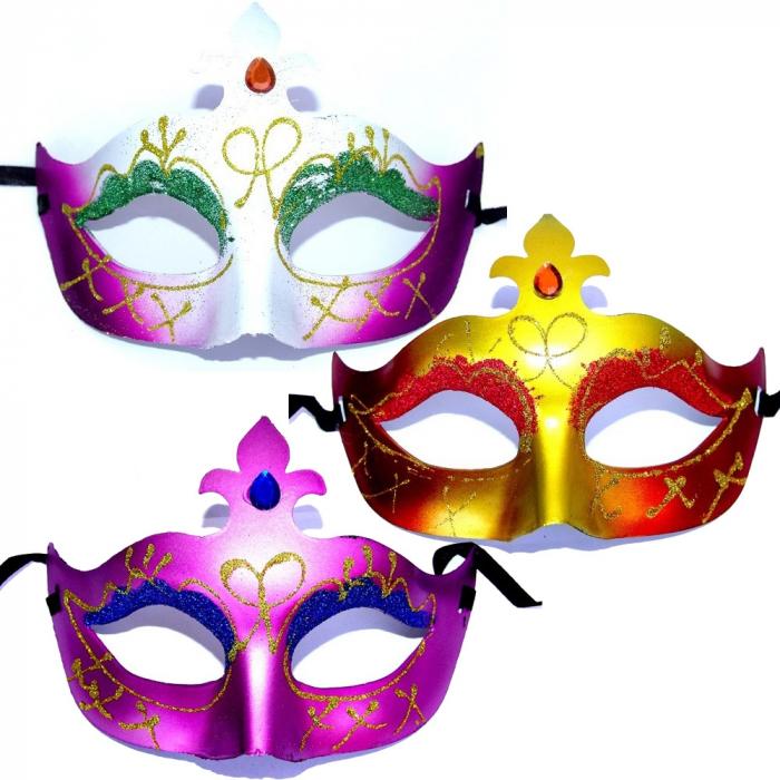 Masca venetiana pentru petrecere diverse modele 1 buc DBSMFITC36  0