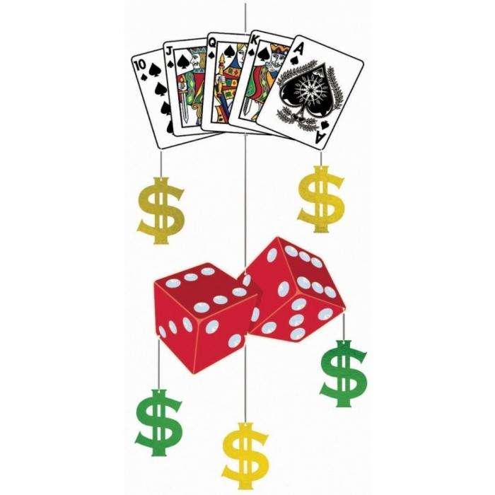 Ornament Casino Pentru Decor Petreceri 1 buc DB677047 1