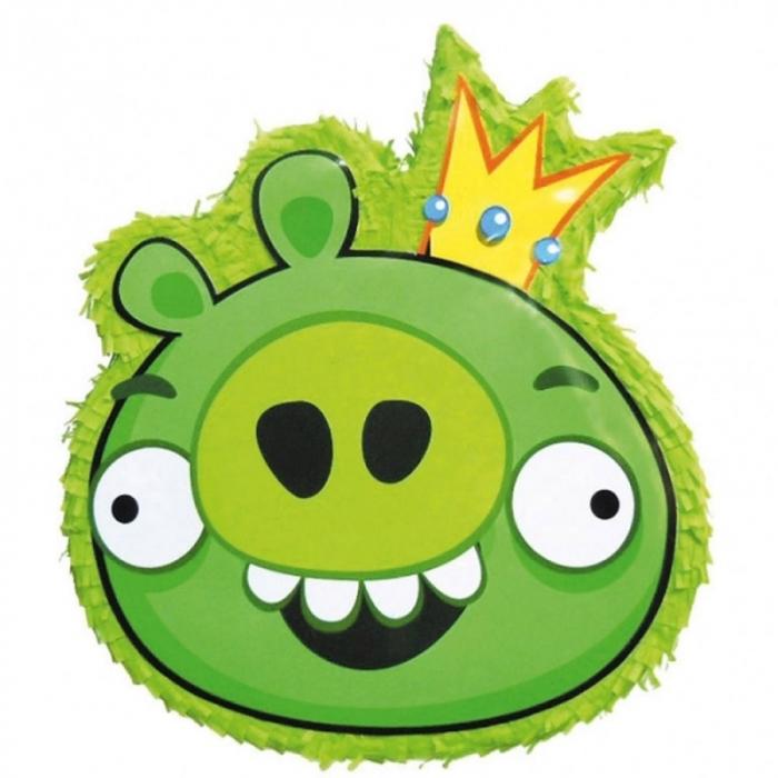 Pinata Angry Birds-Porcusor Verde DB34129  0