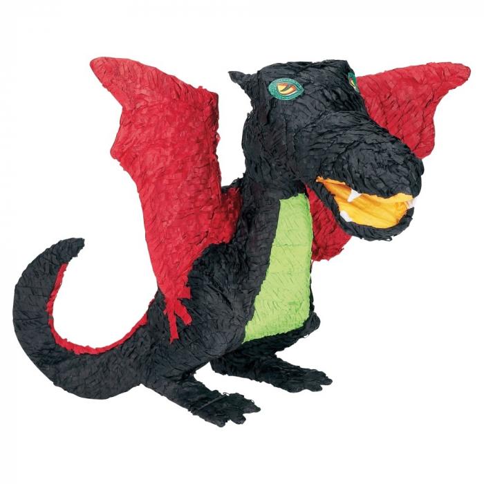 Pinata Dragon Negru DBP12973  0