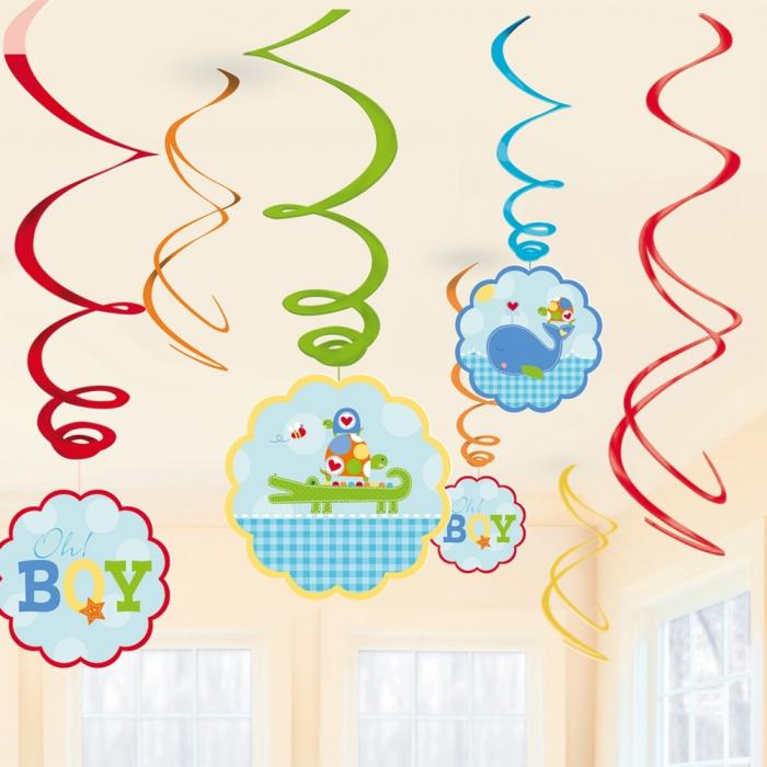 Serpentine Decorative Baby Blue Pentru Petrecere Set 12 buc DB671117 0