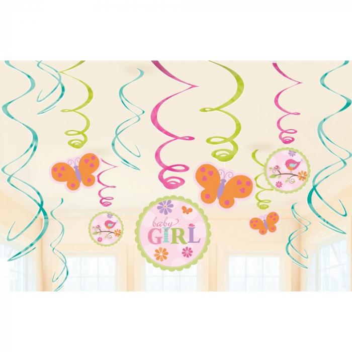 Serpentine Decorative Baby Girl Pentru Petrecere Set 12 buc DB671116 0