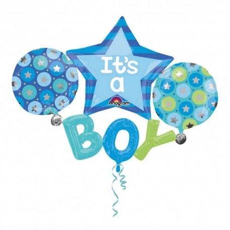 Set Baloane Botez It's A Boy 134 x 99 cm DB31222 0