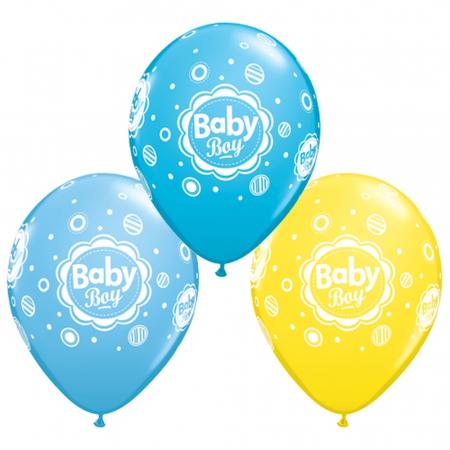 Baloane latex baby boy asortate DB185060
