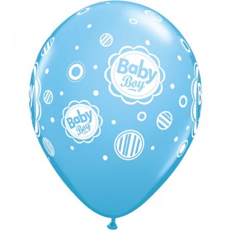 Baloane latex baby boy asortate DB185063