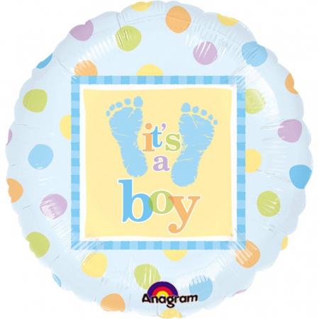 Balon Folie It`s A Boy 45 cm 1 buc DB111056-01 [12]