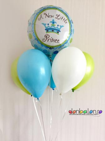 Buchet baloane A new little Prince DBB2011
