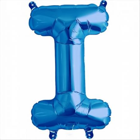 Litera Albastra Foil Balloons 1 buc 41 cm DBNB005319
