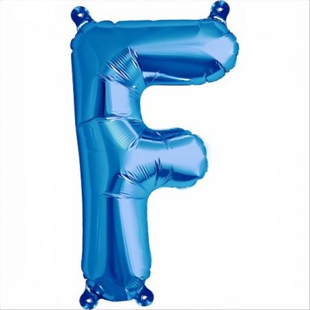 Litera Albastra Foil Balloons 1 buc 41 cm DBNB005316