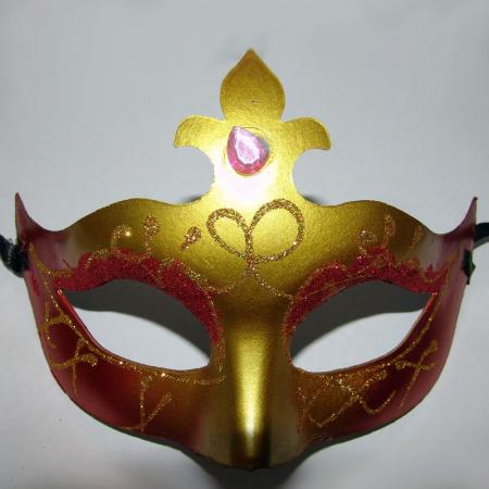 Masca venetiana pentru petrecere diverse modele 1 buc DBSMFITC36 4