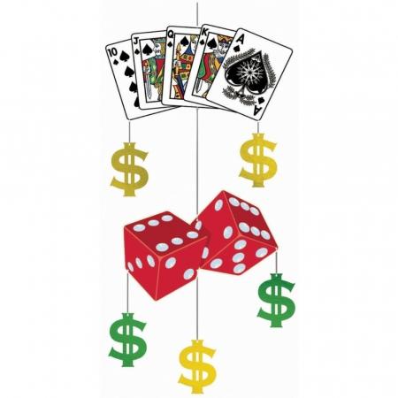Ornament Casino Pentru Decor Petreceri 1 buc DB6770470