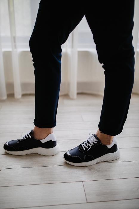 Pantofi Sport talpa alba 1
