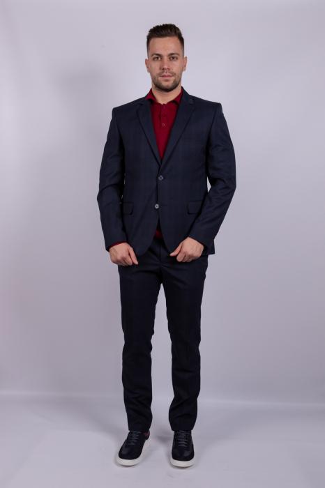 Costum PLAID Business  pentru barbati 0