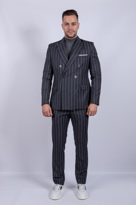 Costum GRAY Business de barbati 0
