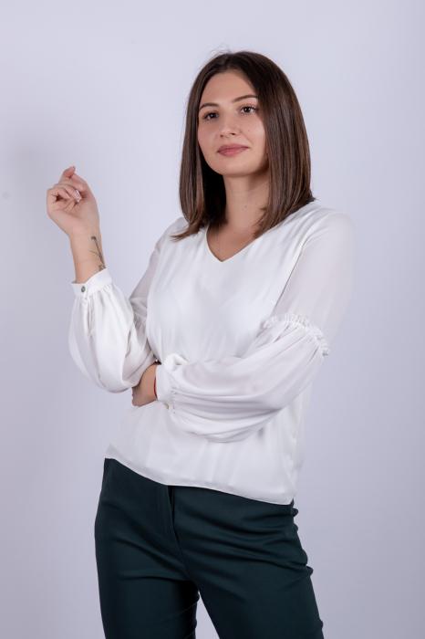 Bluza WHITE OFFICE de dama 1