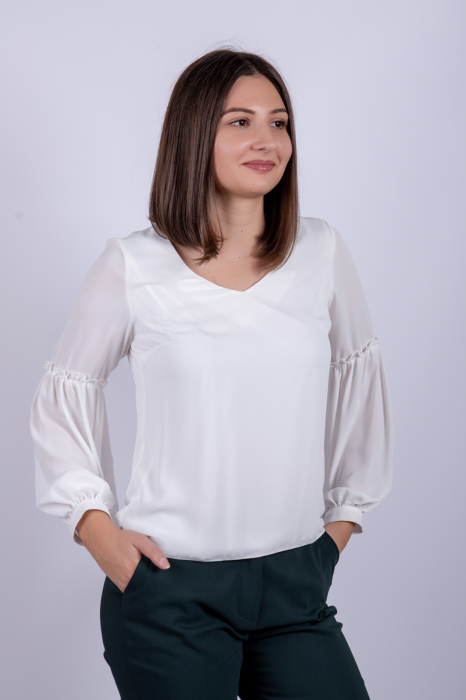 Bluza WHITE OFFICE de dama 2