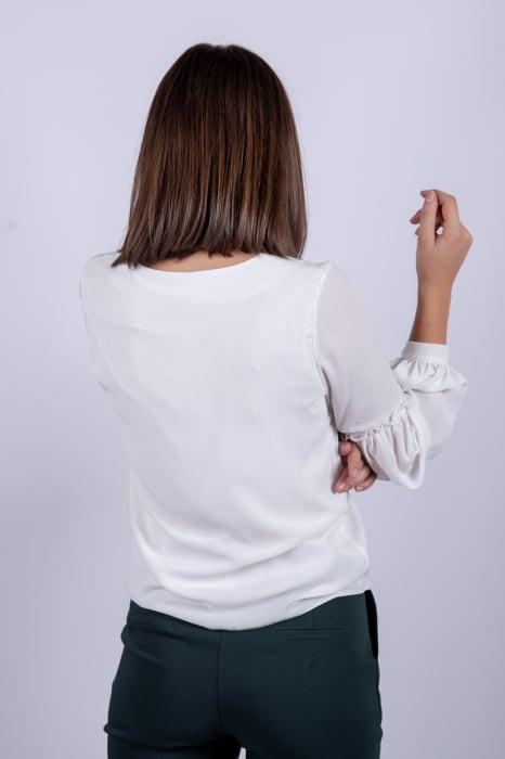 Bluza WHITE OFFICE de dama [3]