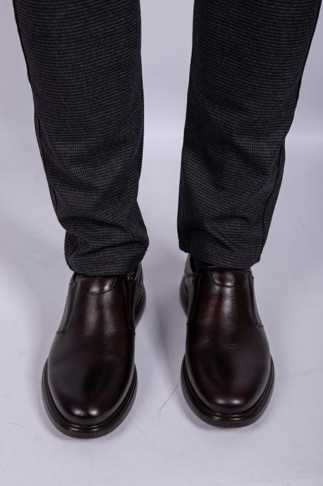 Pantofi BROWN de barbati din piele 0