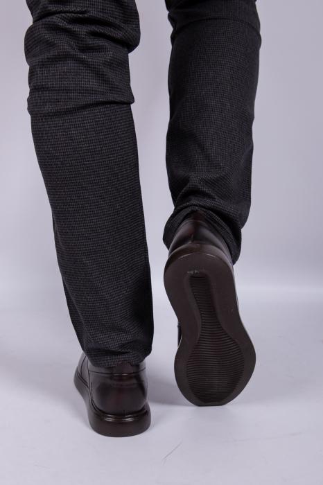 Pantofi BROWN de barbati din piele 3