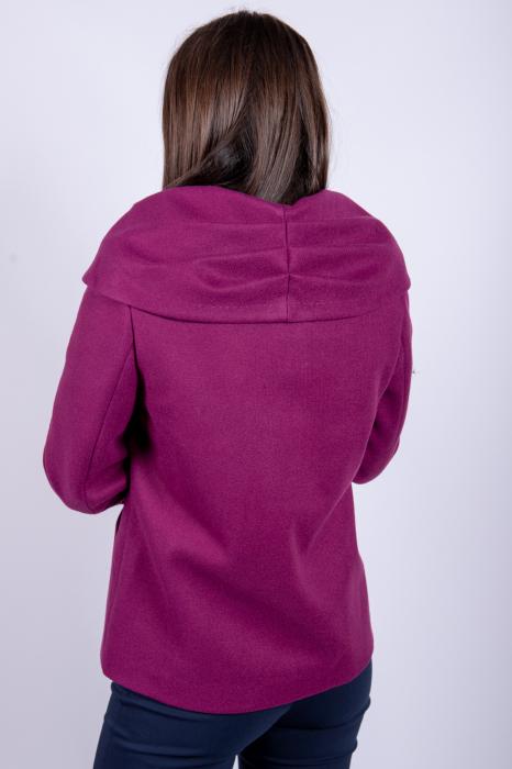 Palton CHLOE de dama scurt 3