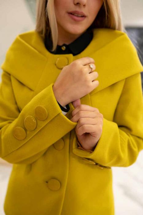 Palton CHLOE de dama scurt [1]