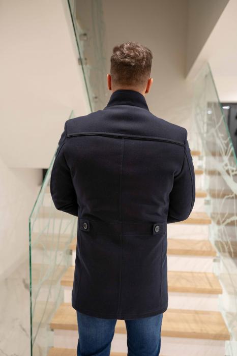 Palton RIBBED elegant pentru barbati 5