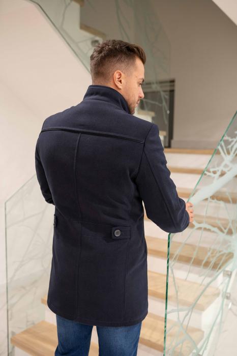 Palton RIBBED elegant pentru barbati 4