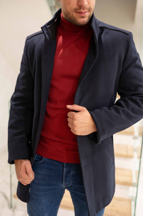 Palton RIBBED elegant pentru barbati 1