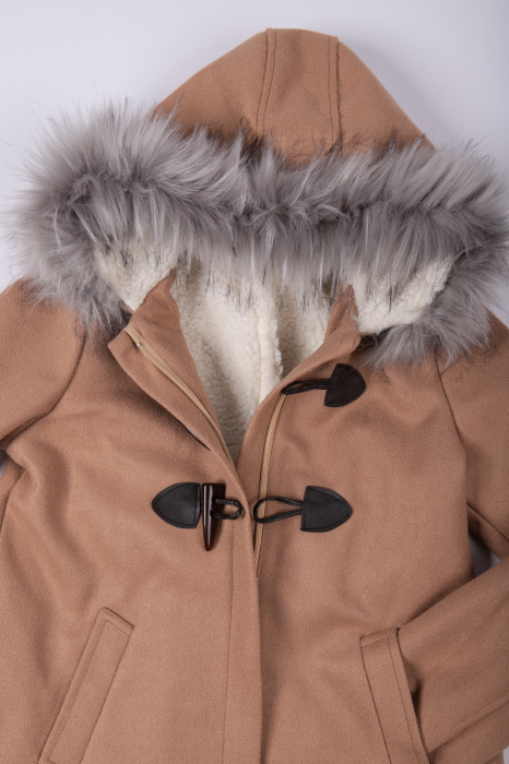 Palton KELSA cu gluga 7