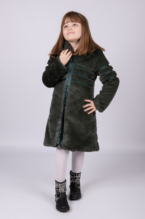 Palton SARAH din blana artificiala [0]