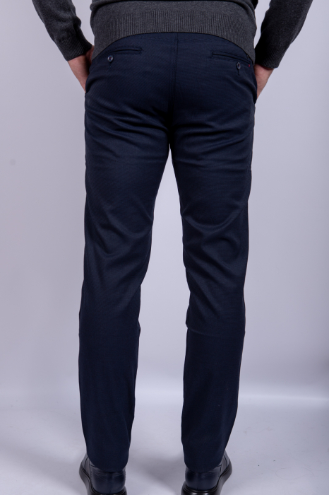 Pantaloni casual BLEUMARIN de barbati 3