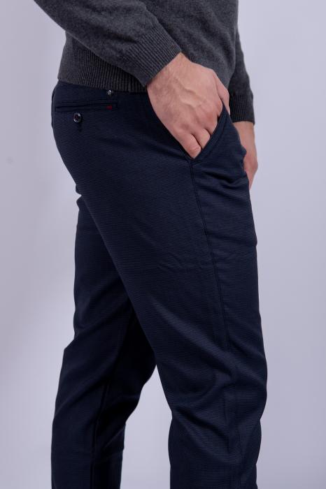 Pantaloni casual BLEUMARIN de barbati 2
