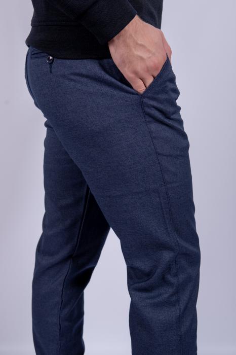 Pantaloni casual BLUE  de barbati 3