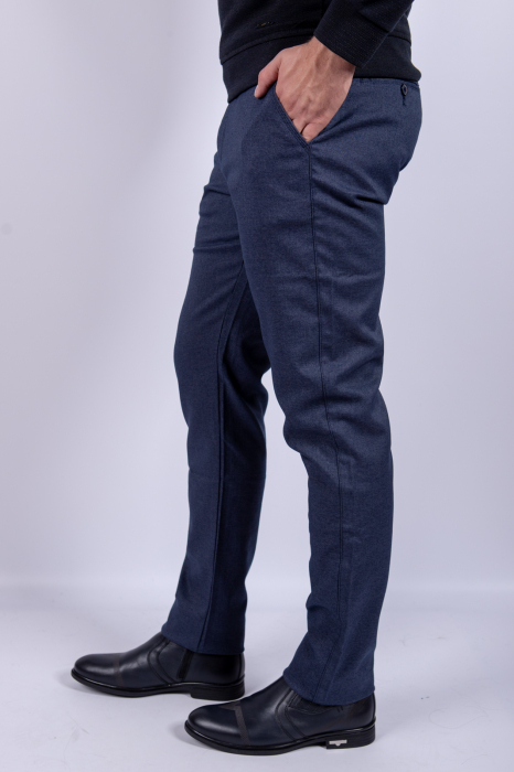 Pantaloni casual BLUE  de barbati 1